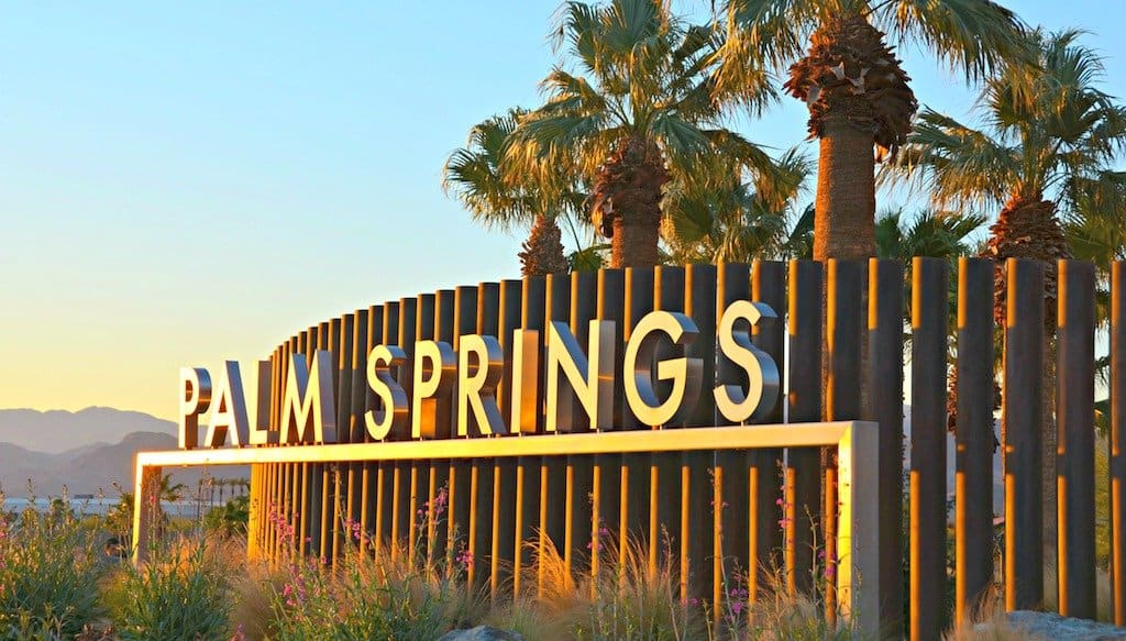 Cool and fun Palm springs
