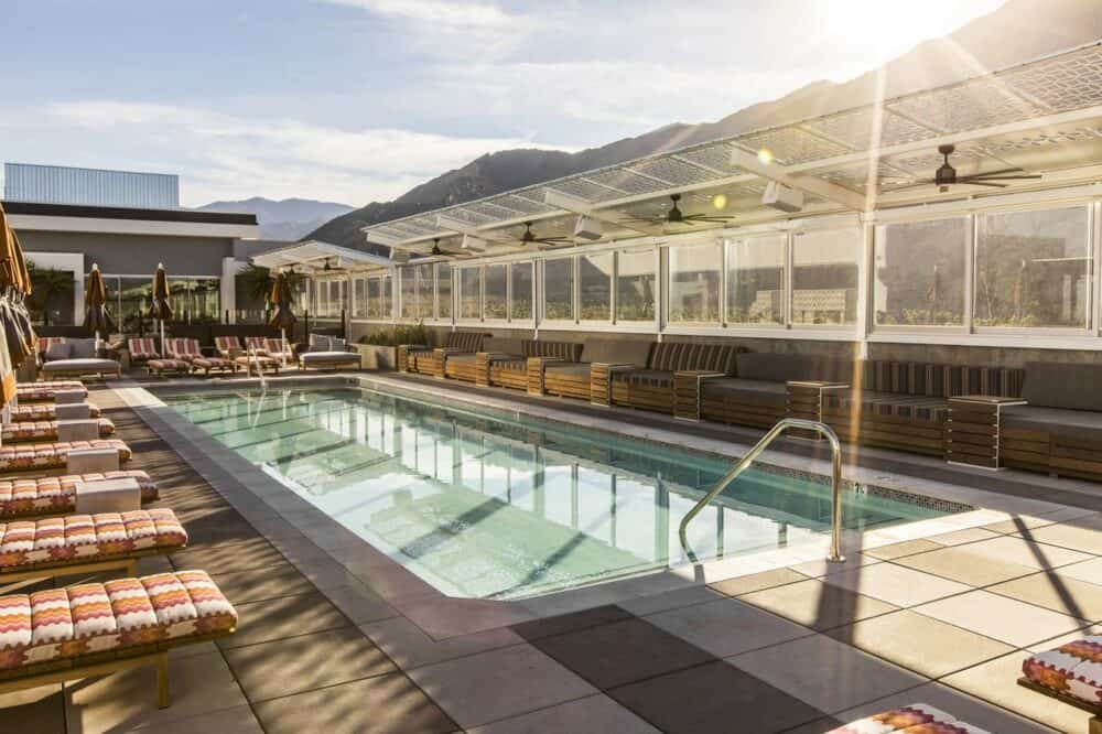 Instagrammable hotel Palm Springs