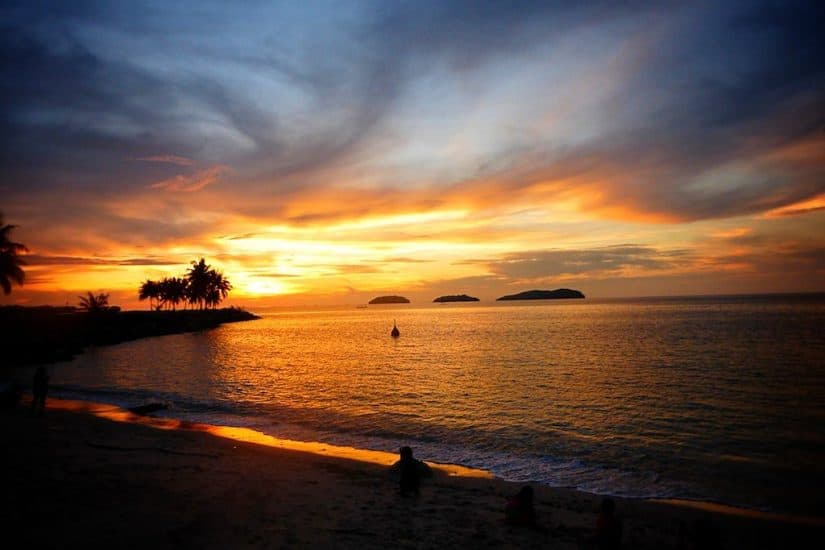 Beautiful Borneo Sunset