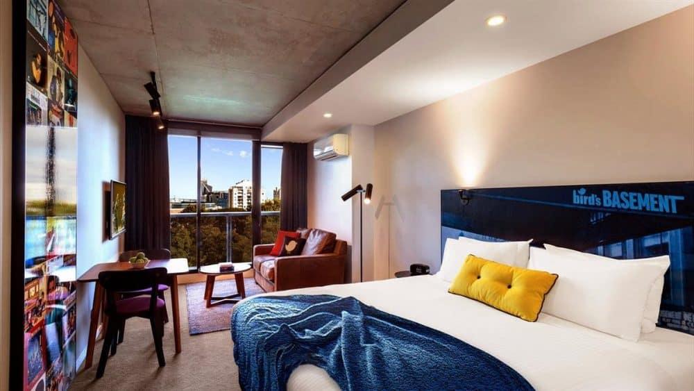 Jazz Corner Hotel - fun and hip hotel in Melbourne