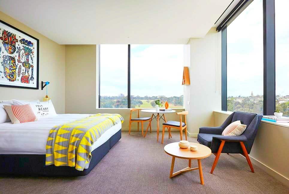 Larwill Studio - cool, colorful and creative hotel