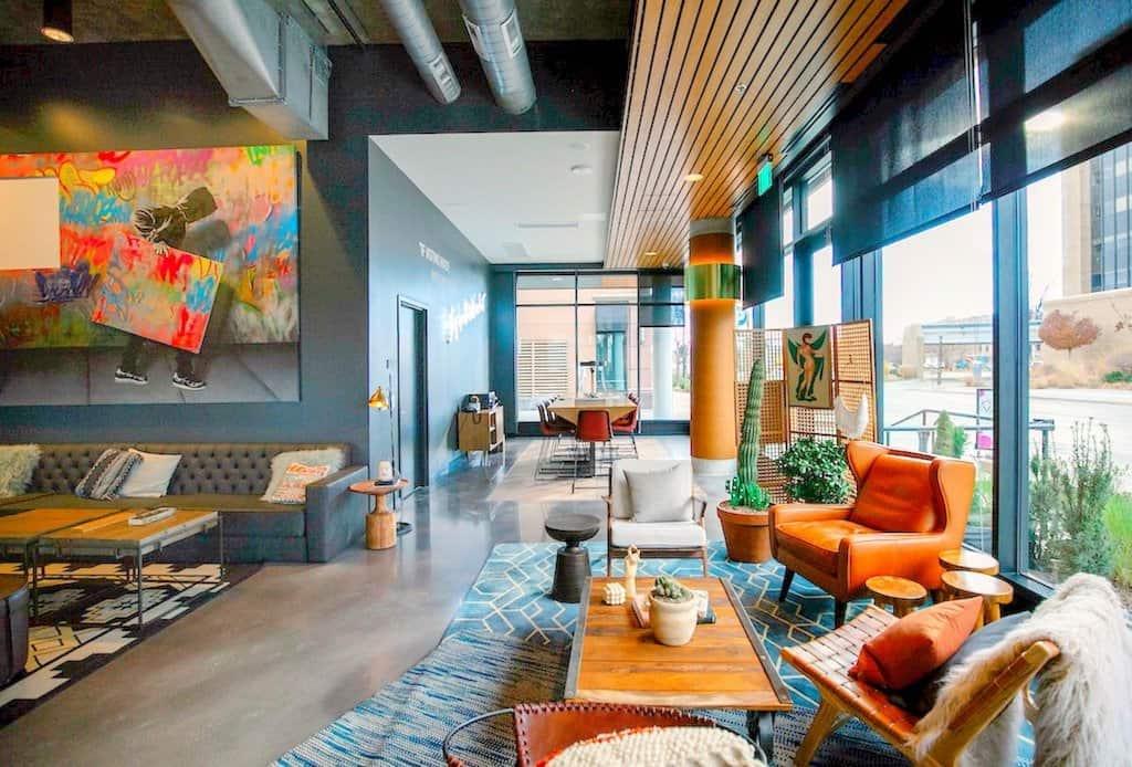 Top 15 cool and unusual hotels in denver boutique travel for Best boutique hotels denver