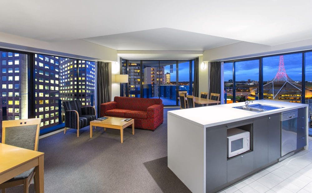 Mantra Southbank - a trendy aparthotel located in Little Bourke