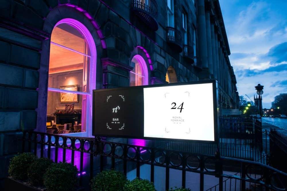 Cool boutique hotel in Edinburgh