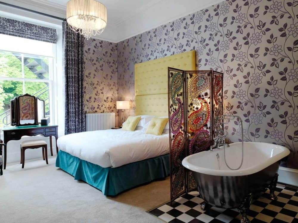 Eclectic boutique hotel in Edinburgh