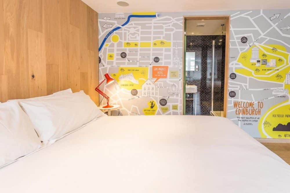 Top 12 cool and unusual hotels in Edinburgh Global Grasshopper