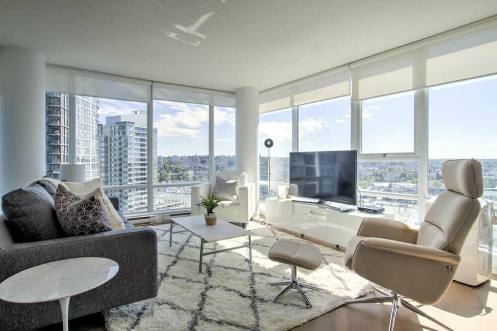 Modern apartment in Vancouver