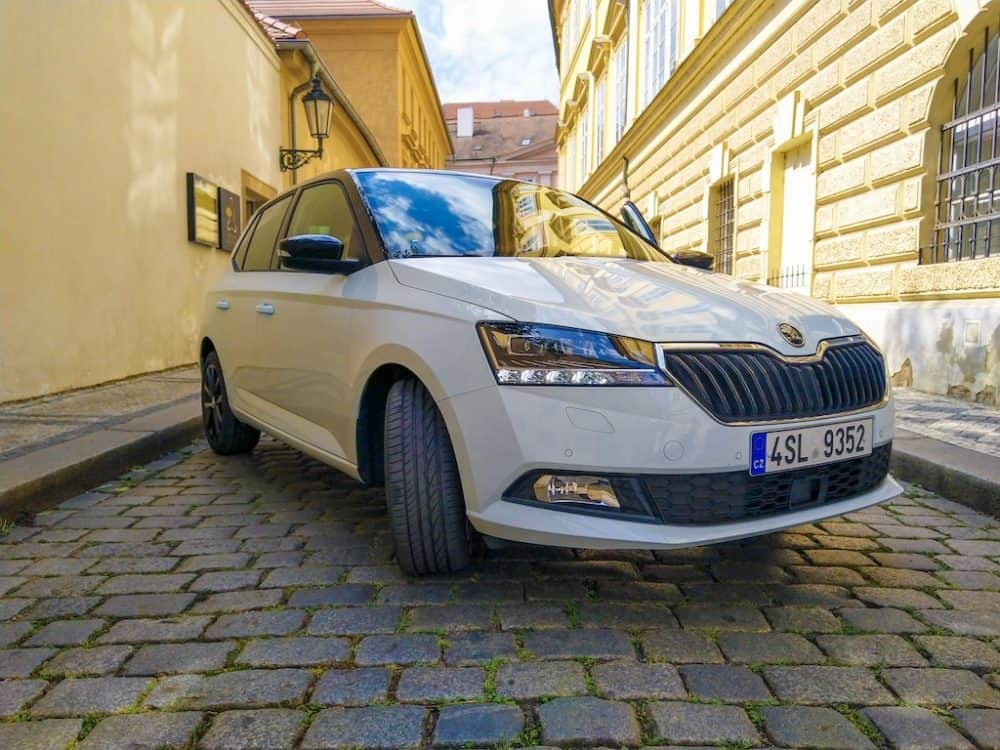 Exploring Prague - the launch of the new Skoda Fabia Global Grasshopper