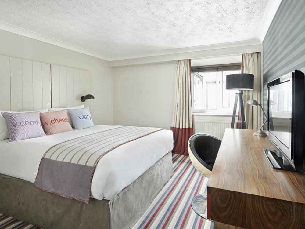 Modern trendy hotel in Edinburgh