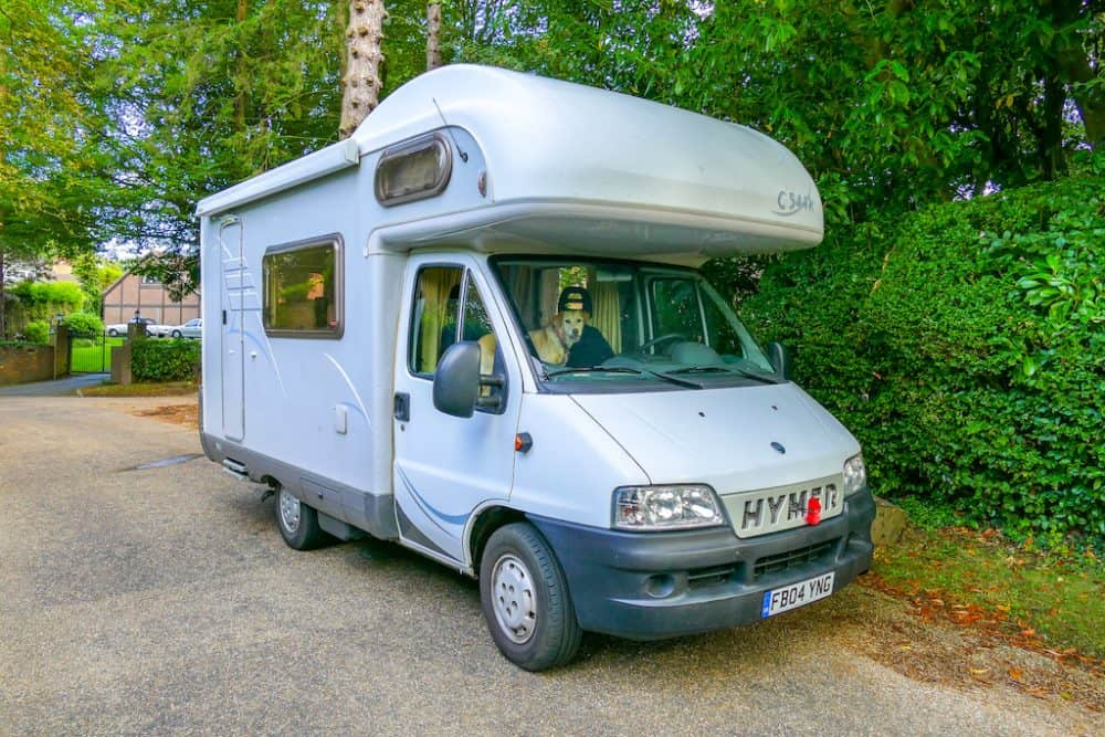 A dog friendly motorhome weekend away in the South Downs (with Camptoo) Global Grasshopper