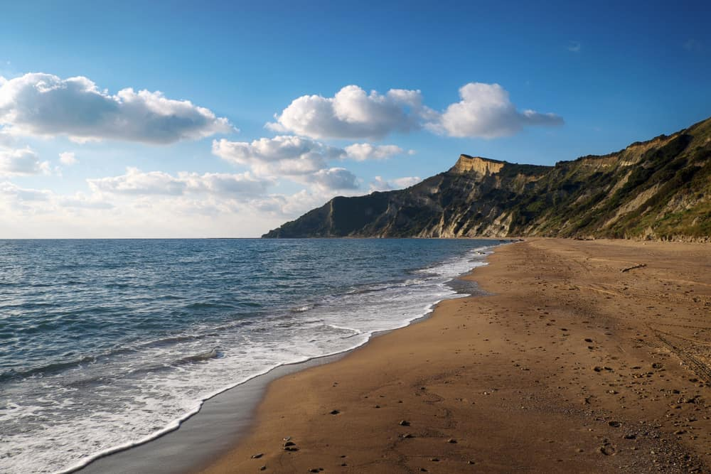 Arkoudila Beach - unspoilt places Corfu