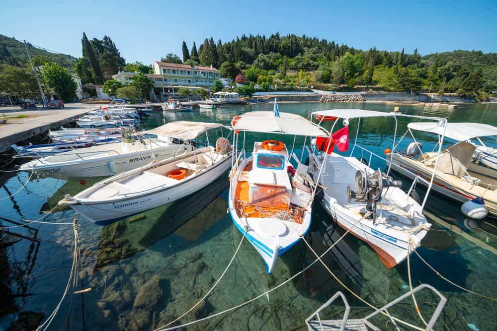 Boukari - unspoilt resorts in Corfu