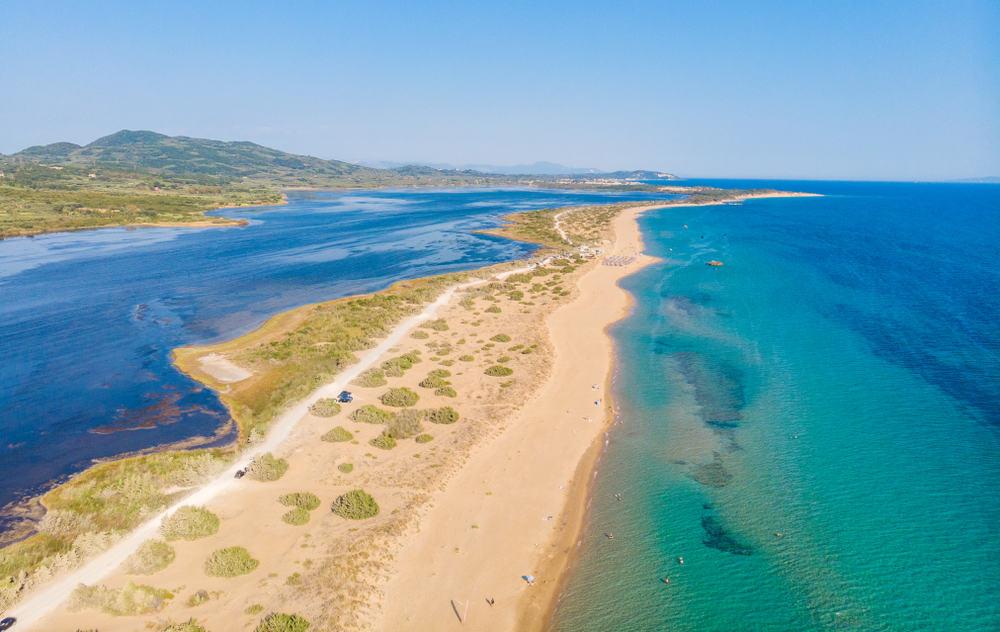 Halikounas - quiet places Corfu