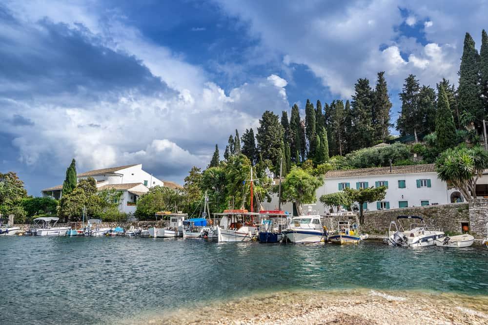 Kouloura - quiet resorts Corfu
