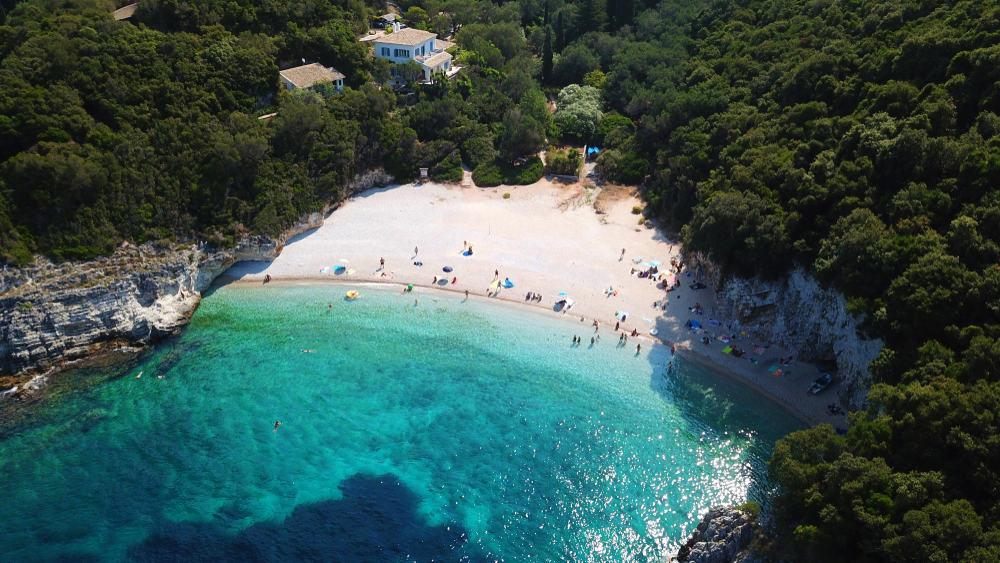 Rovinia Beach Corfu