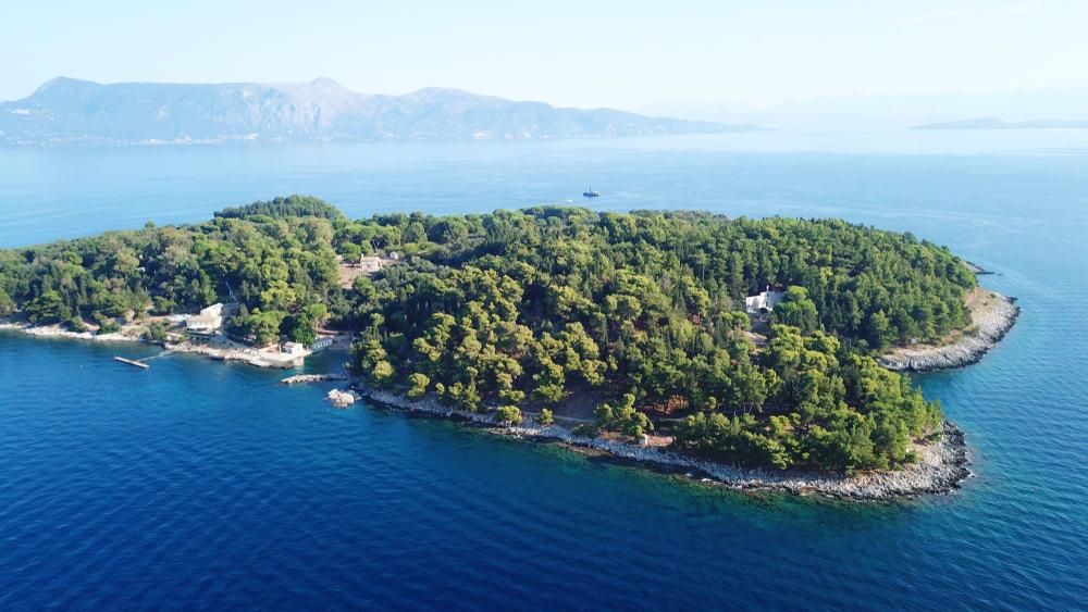 Vido Island Corfu