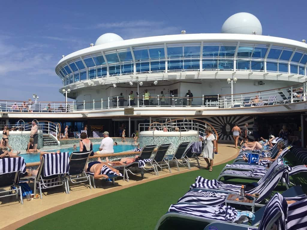 The journey is the destination - a day at sea on board the Crown Princess Global Grasshopper