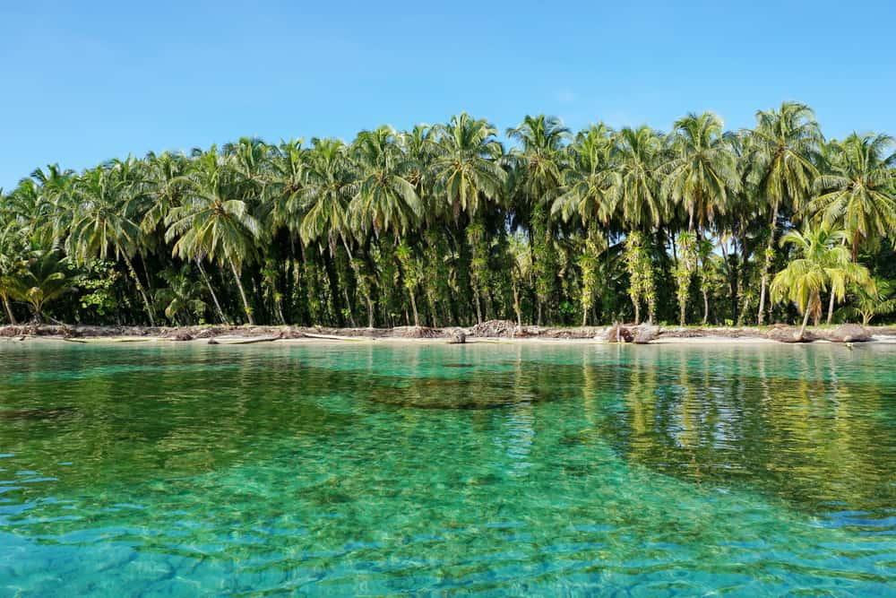 Bocas del Toro - beauty spots on Panama