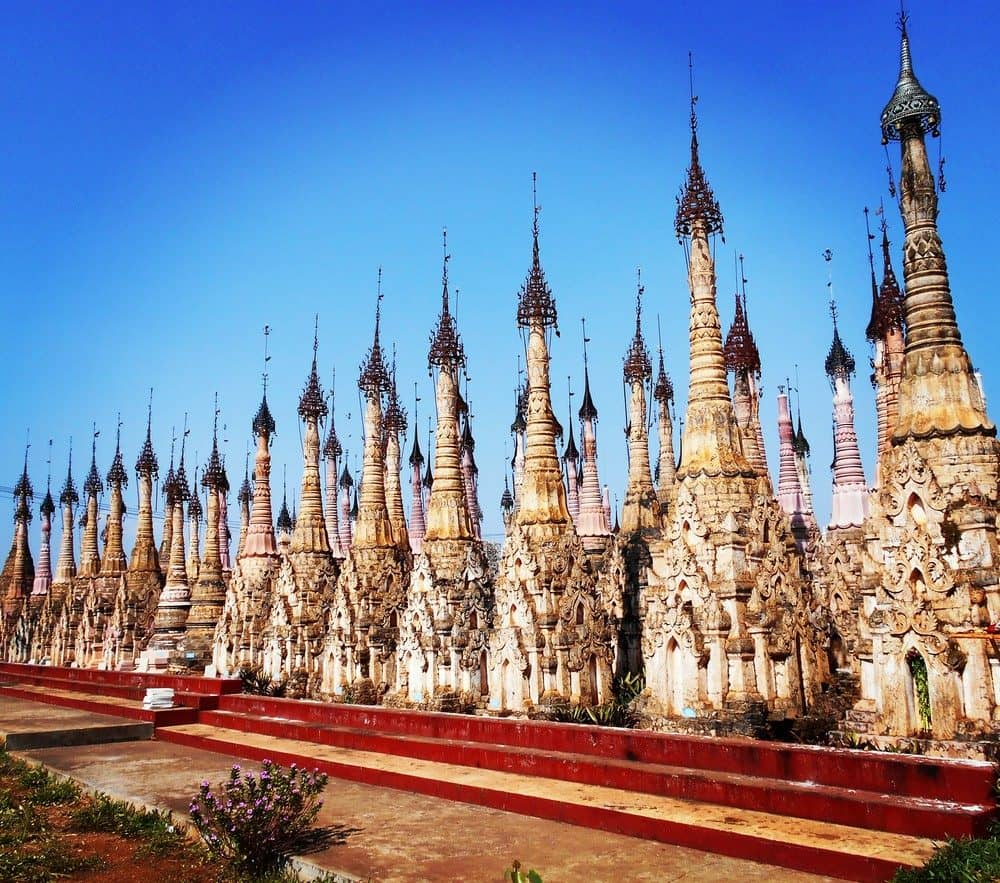 A unique temple in Burma