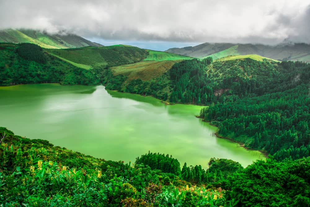 Caldeira - the best places to visit in the Azores