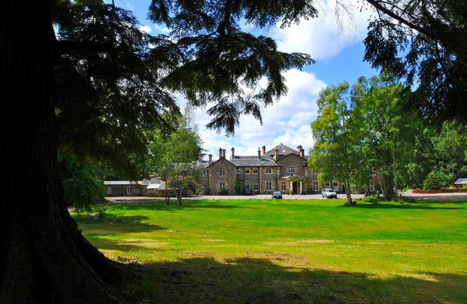 A grand country-house hotel set in a beautiful estate near Inverness
