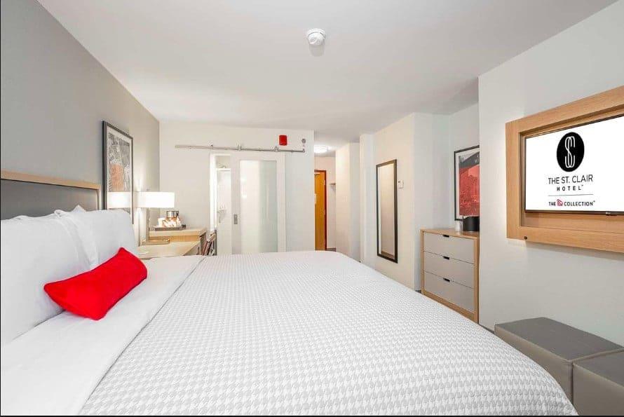 A modern pet-friendly Chicago budget hotel