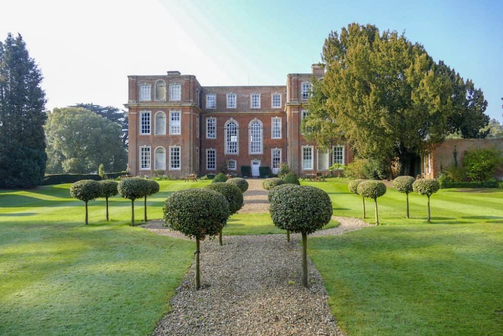 Beautiful Chicheley Hall and gardens in Buckinghamshire