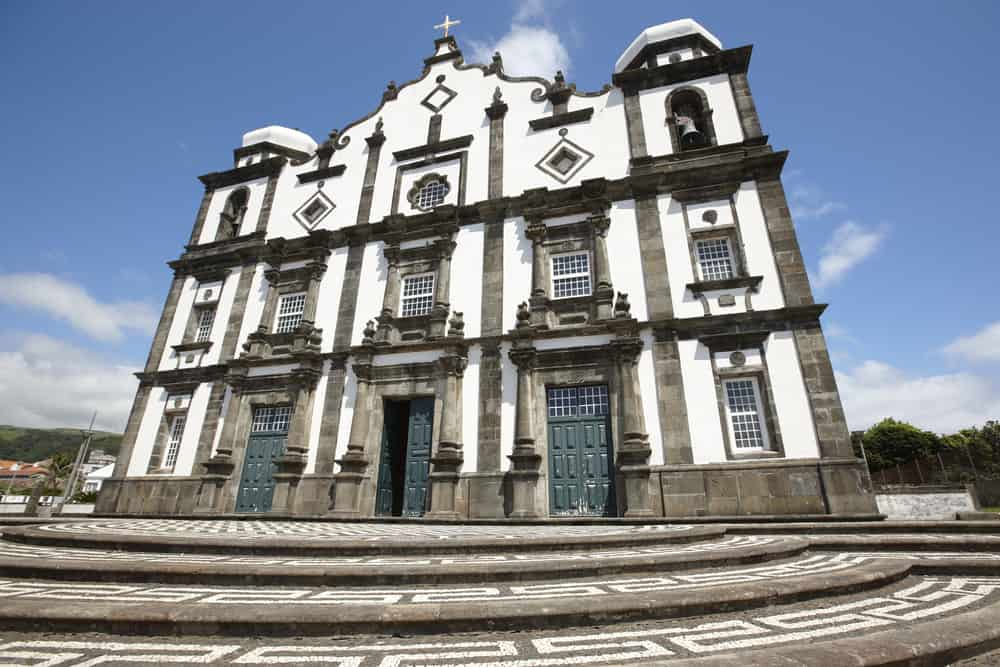 Igreja Matriz de Santa Cruz azores
