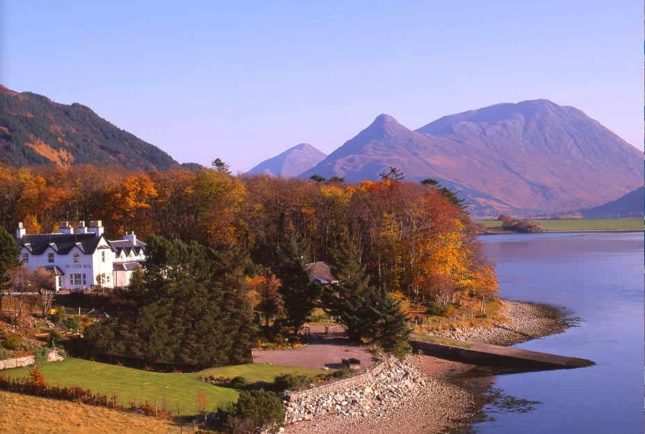A pet-friendly hotel on the banks of Loch Leven