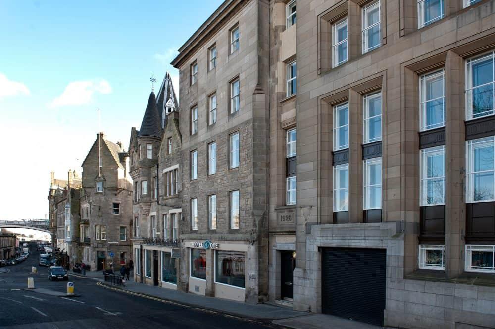 A pet friendly hotel in Edinburgh