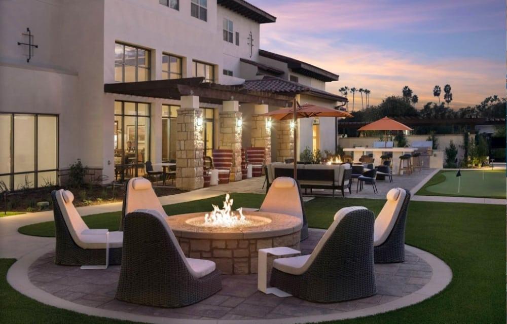 A relaxed all-suite pooch friendly hotel in Goleta in Santa Barbara