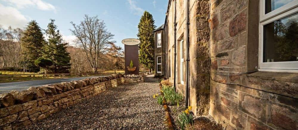Loch Alvie and Cairngorm National Park pet friendly hotel