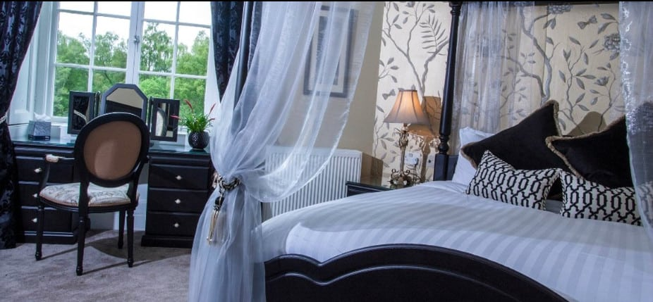 A grand dog friendly country-house hotel set in Inverness