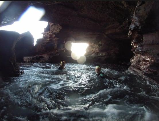 The Hindu Caves Devon