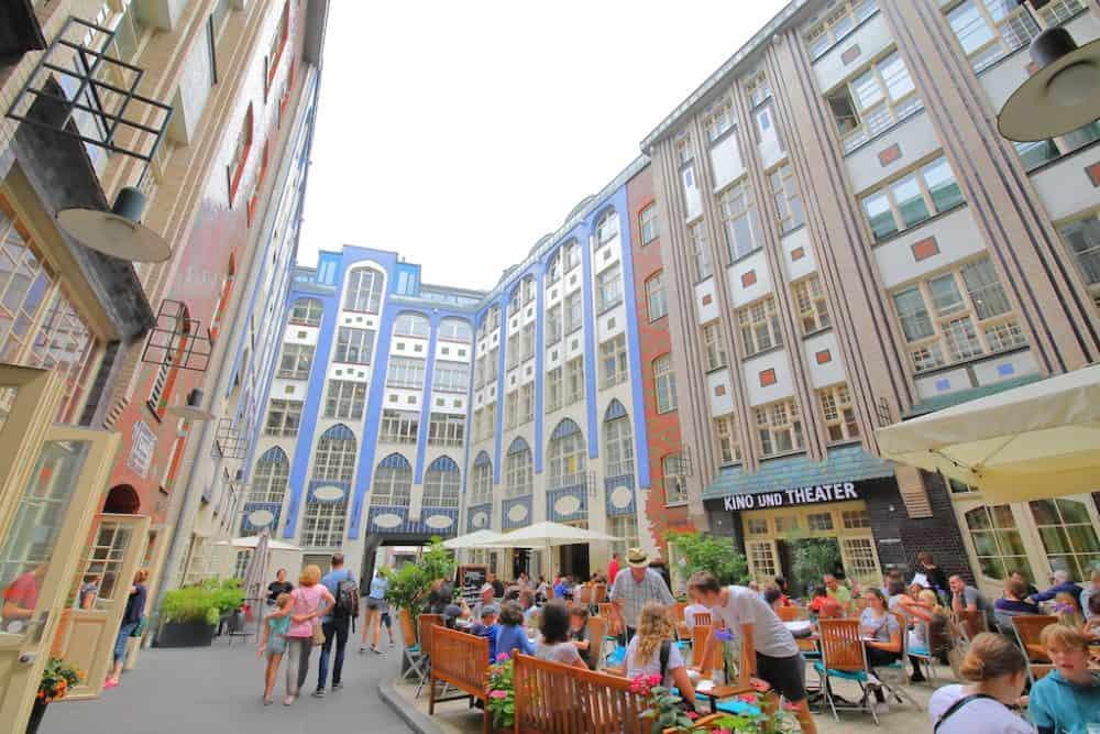 Hackesche Höfe Courtyard Berlin