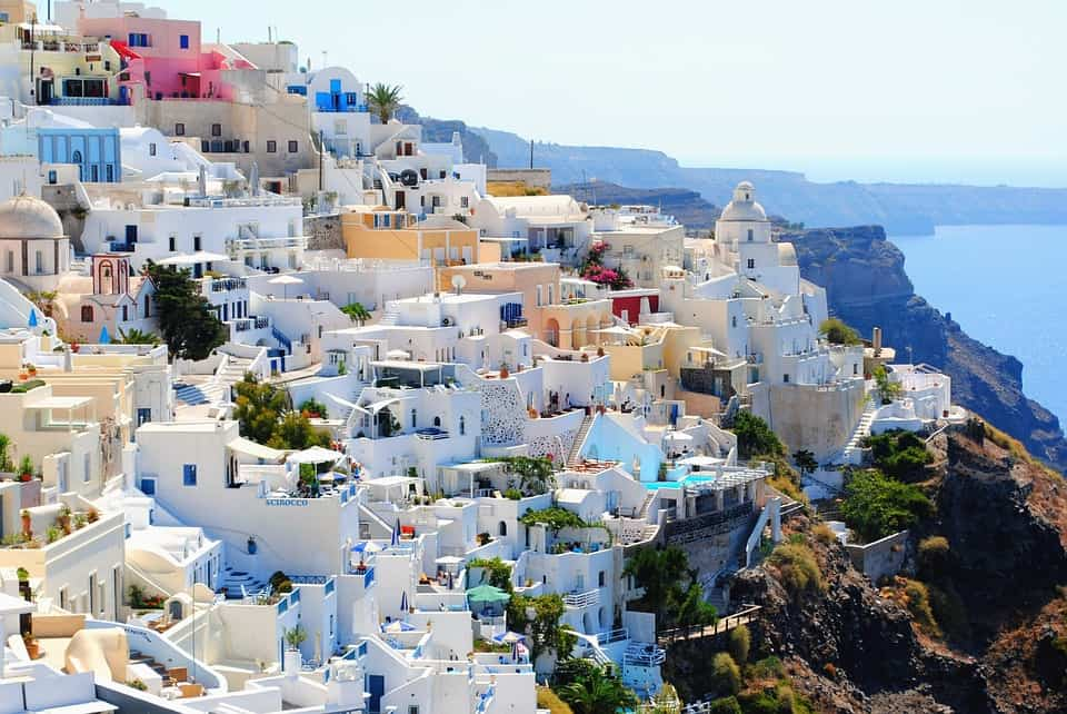 Santorini - the prettiest Greek islands