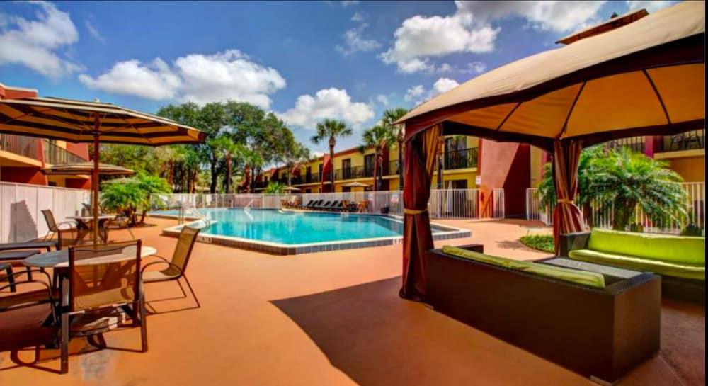 A popular dog friendly hotel in Orlando