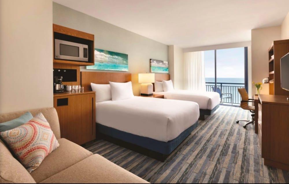 An oceanfront pet friendly hotel in Virginia Beach