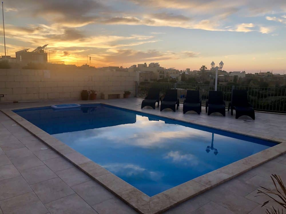 Gozo villa swimming pool