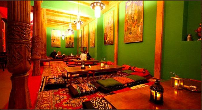 High tea at the Tajikistan Tearoom