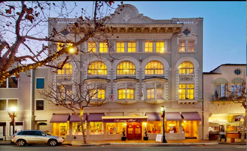 A dog friendly boutique hotel in Monterey