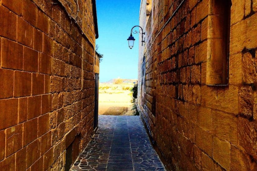 alleyway Gozo