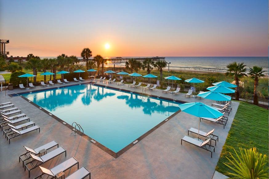 Pet-friendly beachfront resort in Myrtle Beach