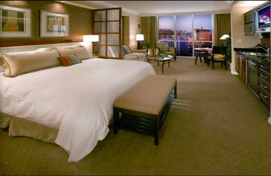 Upscale pet friendly hotel in Las Vegas