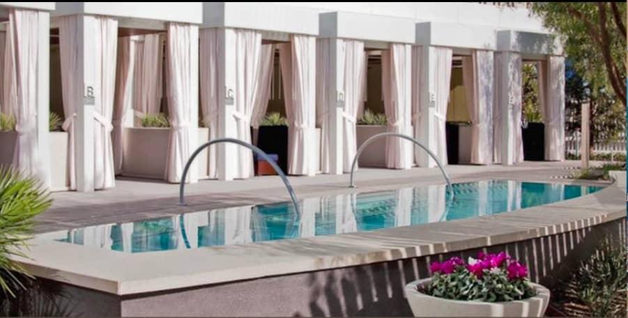 Upscale dog friendly hotel in Las Vegas