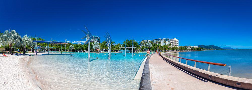 Cairns coastline Queensland