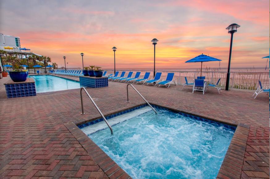 Beach front dog friendly hotel in Myrtle Beach