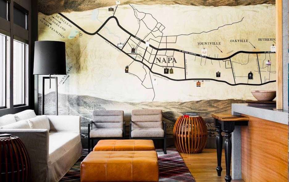Hip dog friendly hotel in Napa Valley