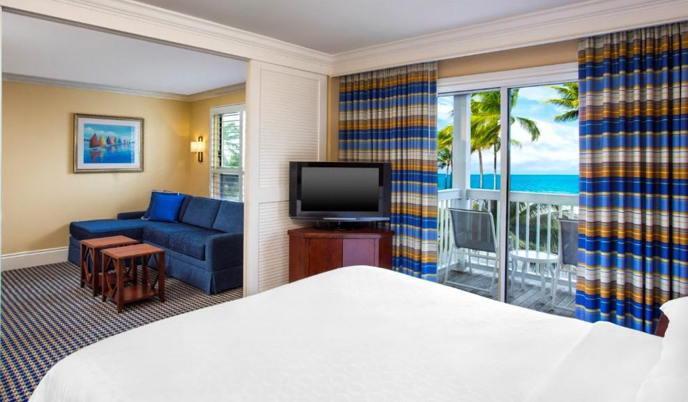 Pet friendly beachfront all-suite hotel