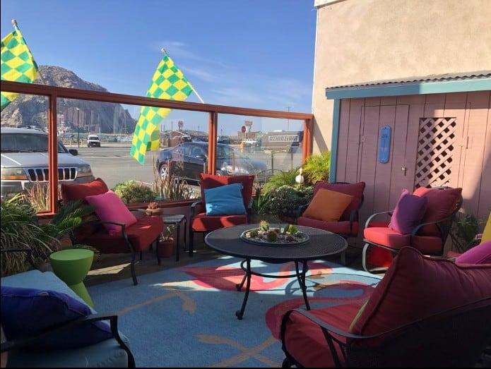 Pet friendly hotel in Morro Bay